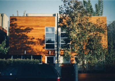 Modern Wood House Tint